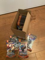 Pokemon Burning Shadows Sleeved Booster Packs 24 ct Mini Case - Factory Sealed!