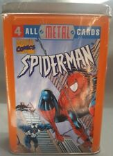 NEW SEALED 1996 SPIDER-MAN ALL METAL CARDS MARVEL COMICS NIP COLLECTORS TIN