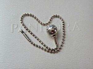 Authentic PANDORA S/Silver ESSENCE BEADED CHAIN BRACELET. 18 cm