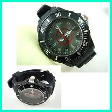Marvel Super Hero Deadpool Boy Man Metal Silicone Wrist Watch Wristwatch + CHARM