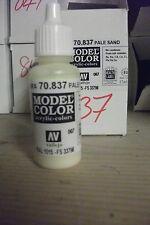 Peinture acrylique Hobby Bouteille 17ml val847 AV Vallejo Modèle Couleur-sable foncé