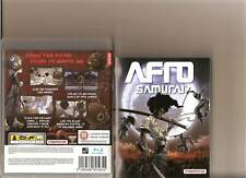 AFRO SAMURAI PLAYSTATION 3 RATED 18 SAMUEL L JACKSON
