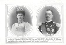 1915 Victor Emmanuel Iii Helen Italian Monarchy Gaba Tepe Gallipoli Peninsula La