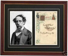 Charles Dickens David Copperfield Signed Autograph