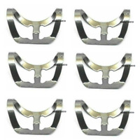 6Pcs Dental Rubber Dam Clamps B5 Brinker Endodontic Clamp Surgical Instruments