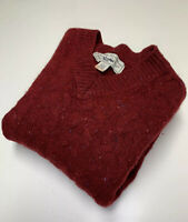 Vintage Authentic GAP Clothing Cable Knit Wool Sweater Men's Size XL