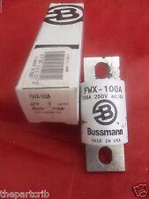 New Bussmann FWX-100A Semiconductor 100 Amp Fuse NIB