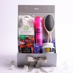 Luxury All About Hair Gift Box for Her Pamper Hamper