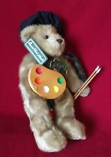 """TEDDY BEAR ARTIST """"Anna Club Plush Leather Tag""""  Jointed -Rare  Collectable"""