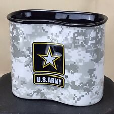 Army Canteen Shaped Ceramic Coffee Mug ACU Camouflage