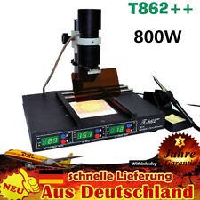 T862++ IR BGA Infrared Rework Station Löten SMD IRDA Welder Schweißgeräte 800W
