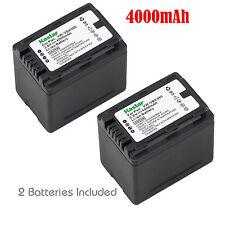 2x Kastar Battery for Panasonic VW-VBK360 HDC-TM41 HDC-TM55 HDC-TM80 HDC-TM90