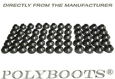 60x Polyboots Ball Joint & Tie Rod End Dust Boots, Polyurethane Replacement Boot