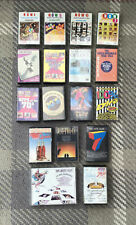 Job Lot 17 Music Cassette Tapes - Compilations - NOW 4,5,6 & 7 / 60's / 70's etc