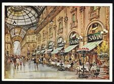 Savini Classico Ristorante Milanese DI Fama Internazionale Postcard Unposted.