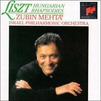 LISZT: HUNGARIAN RHAPSODIES (CD, SEP-1989, SONY CLASSICAL)