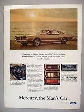 Mercury Cougar PRINT AD - 1967