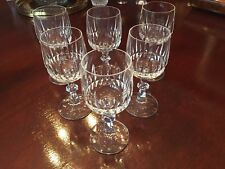 Glass Conscientious Antique 12 Rosenthal Etched Flower Champagne Glasses Nib
