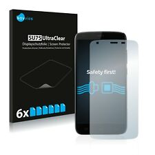 6x Savvies Screen Protector for Doogee T6 Pro Ultra Clear
