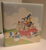 1989 Disney Mickey Mouse & Walt Disney Characters Vintage Album by Holson NEW