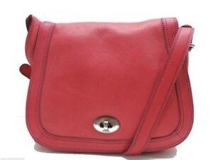 Fossil Marlow Leather Flap Crossbody Handbag Saddle Bag Pink New! NWT