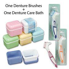 Premium Denture Brush & Denture Bath ComboComplete Care