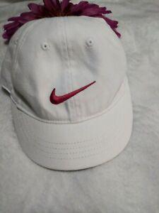 Nike White And Pink Toddler Hat Baseball
