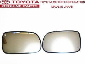 TOYOTA GENUINE OEM JZA80 SUPRA MK4 Side Mirror Lens Set