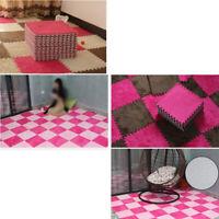 Kinderteppich Bunt Puzzleteppich Babyspielmatte EVA Wildleder Wohnzimmer JO