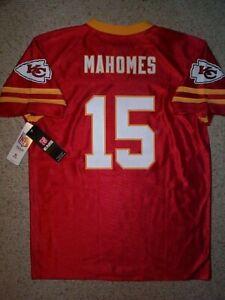 (2020-2021) Kansas City Chiefs PATRICK MAHOMES nfl Jersey YOUTH KIDS BOYS (xl)