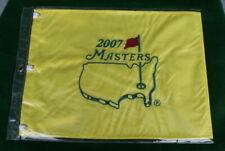 2007 Master pin flag Augusta National Golf Club Zach Johnson open ryder pga