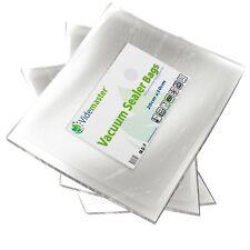 100 x Food Vacuum Sealer Bags BPA FREE by Videmaster, for  Foodsaver, JML etc