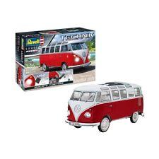Volkswagen T1 Samba Bus Revell Technik Level 5 1:16 223 Parts Model Kit