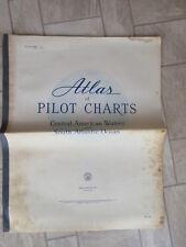 ATLAS of PILOT CHARTS CENTRAL AMERICAN WATERS & SOUTH ATLANTIC OCEAN 1955