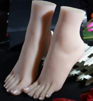 XSL13 Female Akimbo Straight Foot Body Model Mannequin Skin Color