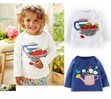 Baby top Mini Boden cotton applique tee patchwork new 3 6 12 18 24 months girls