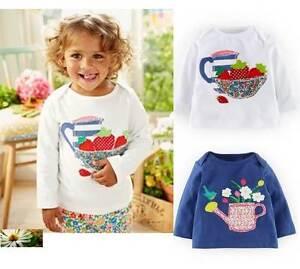 Baby top Mini Boden cotton applique tee patchwork new 3 6 12 18 24 months girls