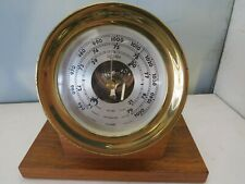 Chelsea Brass Barometer 5.5� With Base