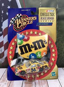 Car 1:64 Diecast WC NASCAR 2000 Ken Schrader M&M's Deluxe Race Hood Pontiac