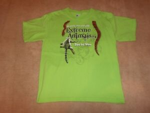 EXTREME ANIMALS T-SHIRT, SIZE YOUTH SMALL