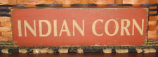 PRIMITIVE  COUNTRY  FALL INDIAN CORN SIGN