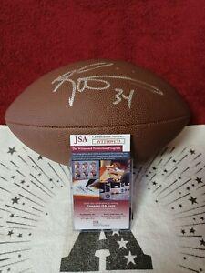 Ricky Williams Autographed Full-Size Wilson Football, JSA