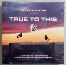 volcom stone presents TRUE TO THIS skateboard BLU RAY / BOOK / VINYL NEW