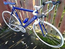 FLANDERS 27-speed Road Race/Endurance/Tour Bike, Blue - Shimano ULTEGRA 105 SORA