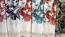 Joblot 12 pcs Butterfly Mixed Design scarf NEW wholesale 70x200 cm lot 34