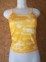 Tee shirt à bretelles, caraco, top, débardeur, FILLE, en 12/13 ans (modèle 4)