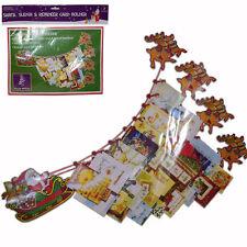 Décoration de Noël - Porte-Cartes - Détient 48 Cartes - Père Noël et Traîneau