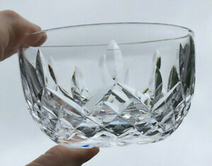 Waterford Deep Cut Crystal Small Bowl Lismore Pattern -Preserves Sweets Trinkets