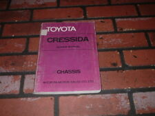 TOYOTA CRESSIDA CHASSIS WORKSHOP MANUAL. 1977.