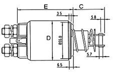 RELE'ELETTROMAGNETE MOTORINO AVVIAM.FIAT-IVECO DUCATO-DAILY 4719=MT71AB-68BA-AD